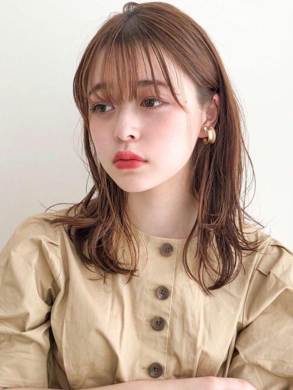 遠心顔さんにおすすめの髪型8