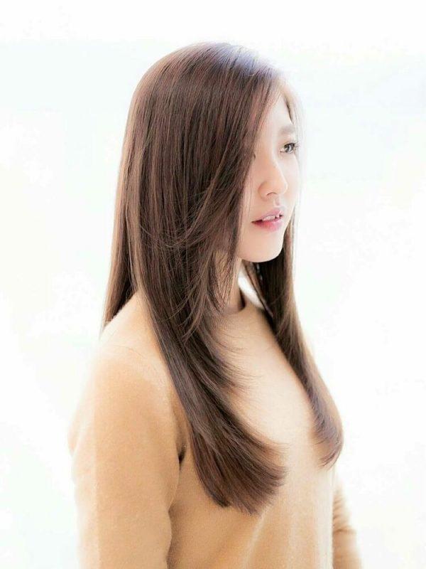 艶髪ロングヘア×ストレート
