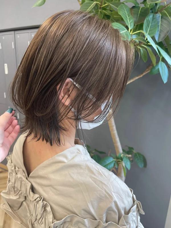 秋冬トレンドの髪型12
