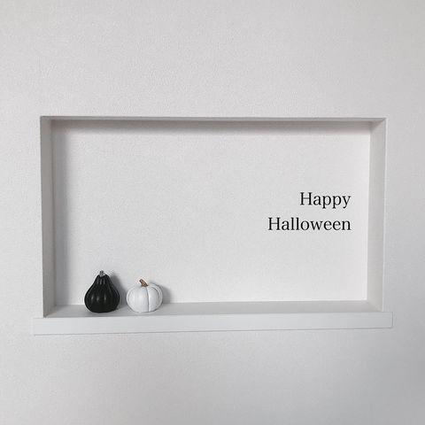 かぼちゃアイテムでハロウィンディスプレイ