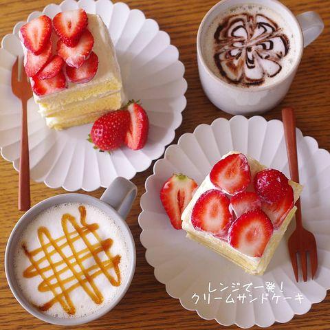 クリームサンドケーキ
