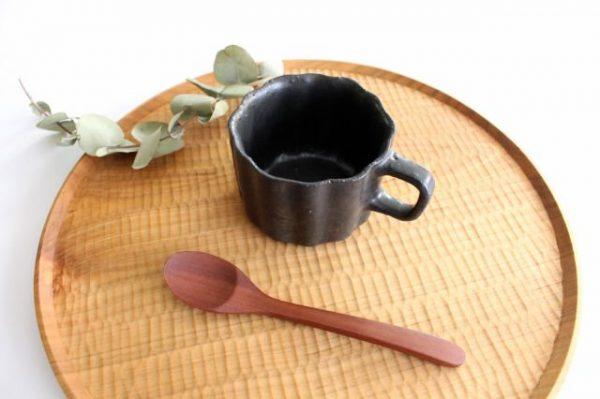 ブロンズ 輪花皿 陶器 レジーナ