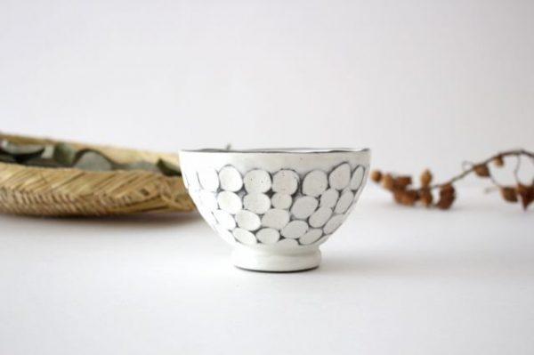 白玉粉引き 飯碗