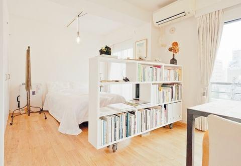 ワンルームの家具配置8