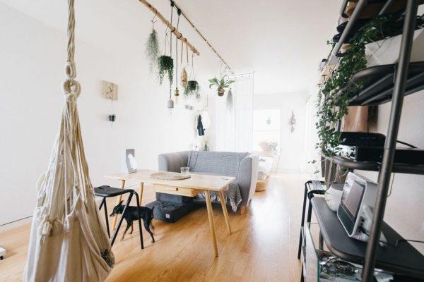ワンルームの家具配置9