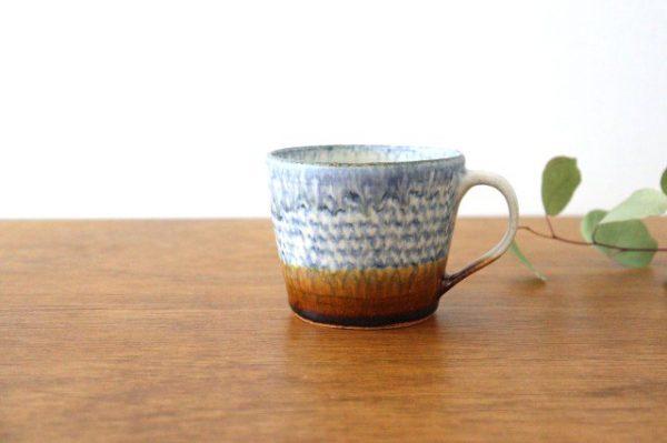 マグカップ 陶器 蓮見かおり 益子焼