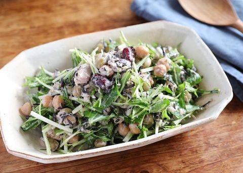 栄養たっぷりで美味しい豆まめ和サラダ