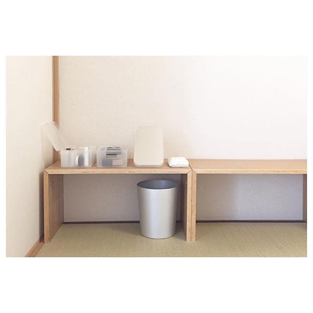 コの字の家具のカウンター