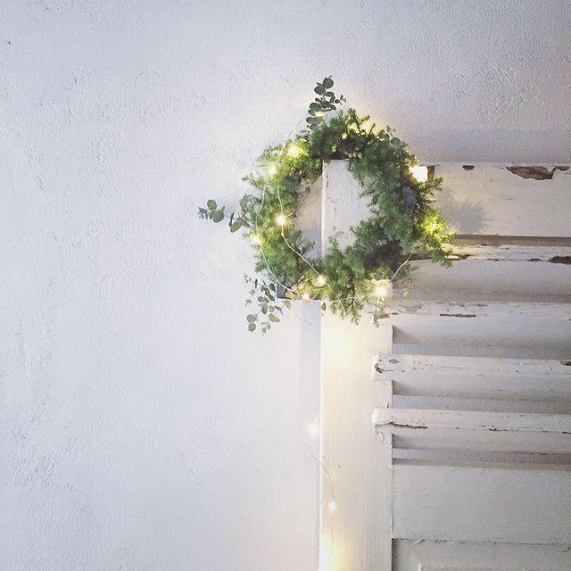 手作りクリスマスリース4