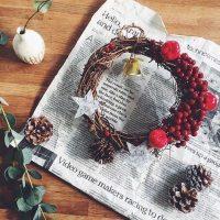 子供と一緒に手作りできるクリスマスリース特集!簡単なのにおしゃれな作り方