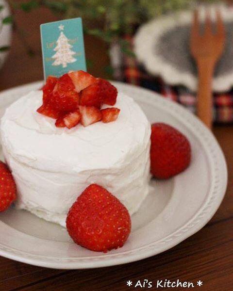 パン×ヨーグルトのクリスマスケーキレシピ