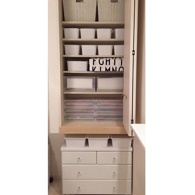 セリアの収納ボックス③