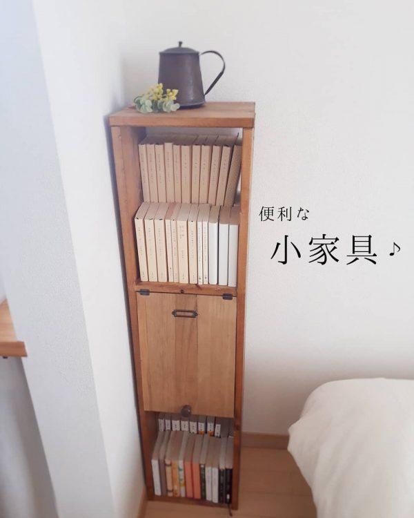 隙間にぴったりな小家具DIYアイデア