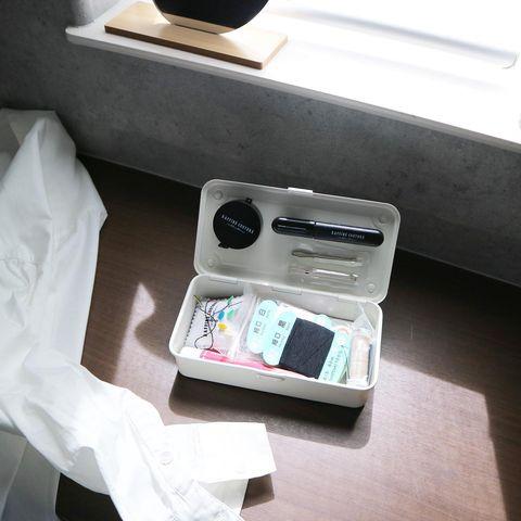 裁縫セットを入れる工具箱