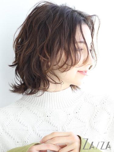 秋冬トレンドの髪型3
