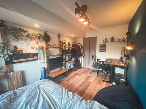 ワンルームの家具配置11