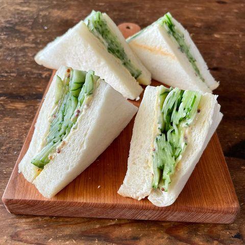 本当に美味しいきゅうりサンドイッチレシピ