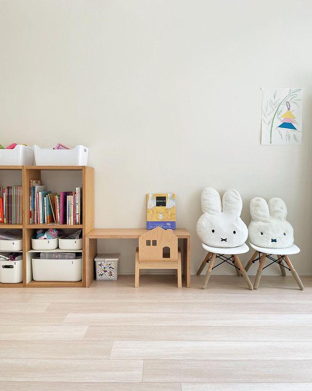 キッズ家具として使うコの字の家具