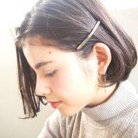 40代の大人女子向け前髪簡単アレンジ15選。ピンで毎日の髪型に変化を与えよう