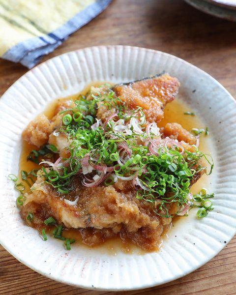 ブリの生姜おろしポン酢