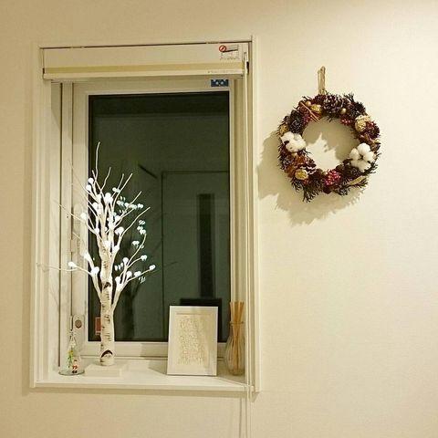 手作りクリスマスリース8