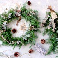 手作りクリスマスリースに挑戦しよう!簡単でおしゃれな作り方をレクチャー