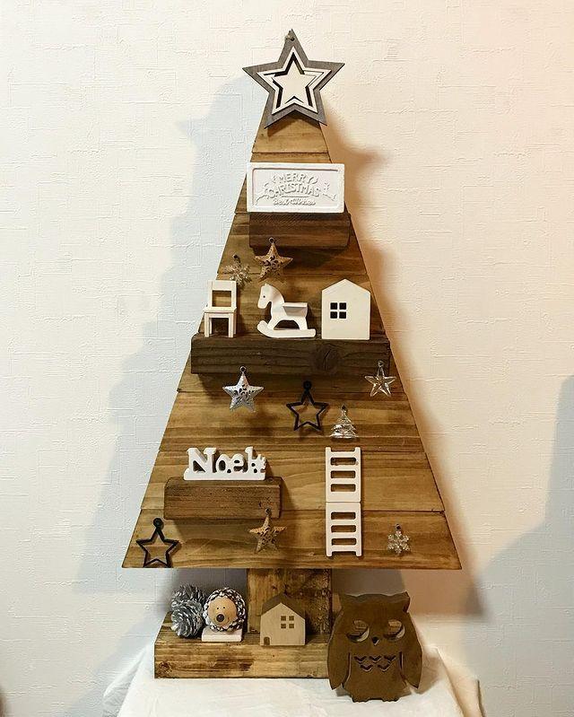 クリスマスツリーDIY