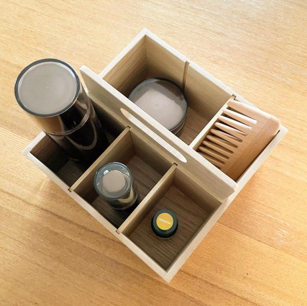 無印良品の木製ツールボックス3