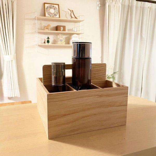 無印良品の木製ツールボックス2