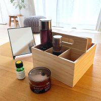 【無印良品】の新商品!木製ツールボックスで見せる収納