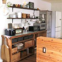 【folk公式アンバサダー】キッチンを漆喰風に!モルモルでペイントDIY
