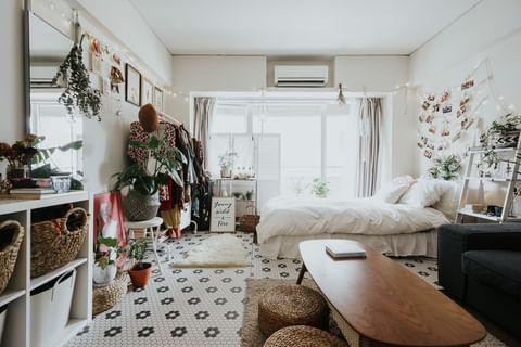 ワンルームの家具配置14