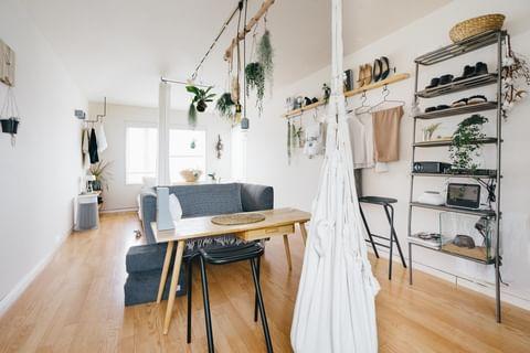 ワンルームの家具配置6