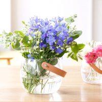 どんなお花もおしゃれに。HOLMEGAARDから届いたガラスポット