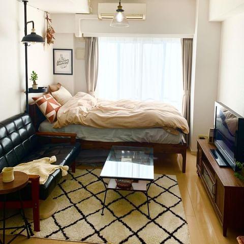 ワンルームの家具配置