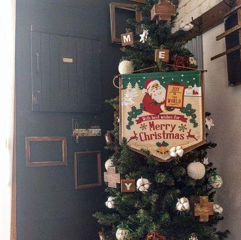 クリスマス飾り手作りツリー3