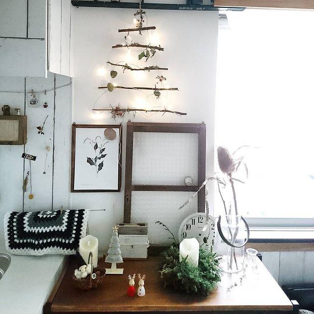 クリスマスツリーDIY9