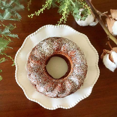 クグロフ型のクリスマスチョコケーキレシピ
