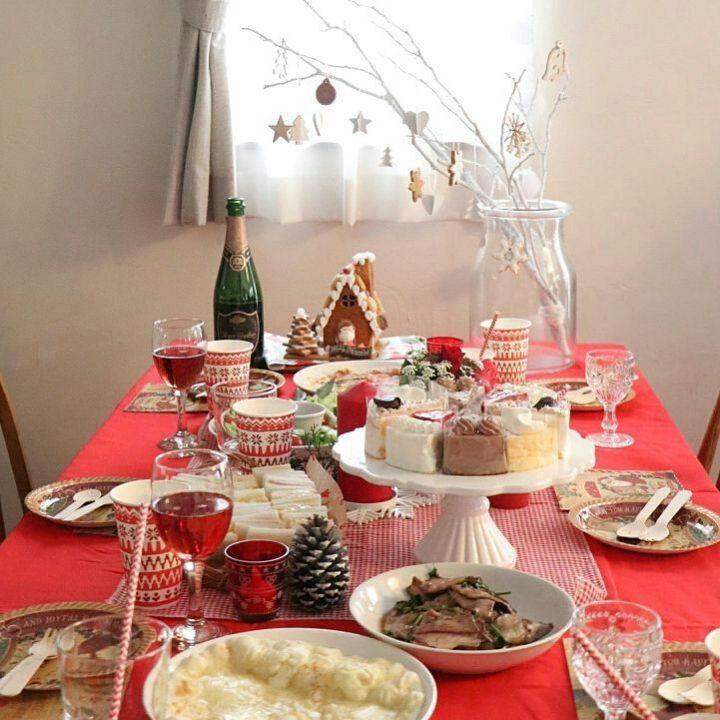 子どもが喜ぶ可愛いクリスマスパーティーコーデ