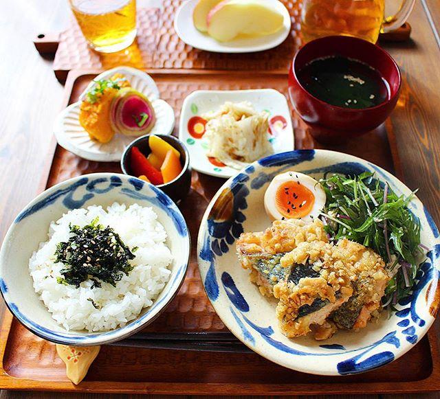 和えるだけで簡単な水菜とツナのマヨナムル