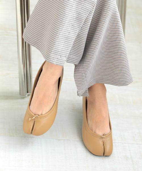 【DONOBAN】フラット足袋パンプス