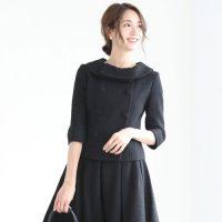 レディース黒スーツのおしゃれな着こなし術。おすすめのスカート・パンツスタイル
