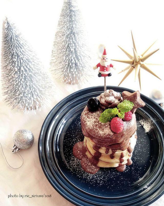 チョコがけクリスマスツリーケーキレシピ