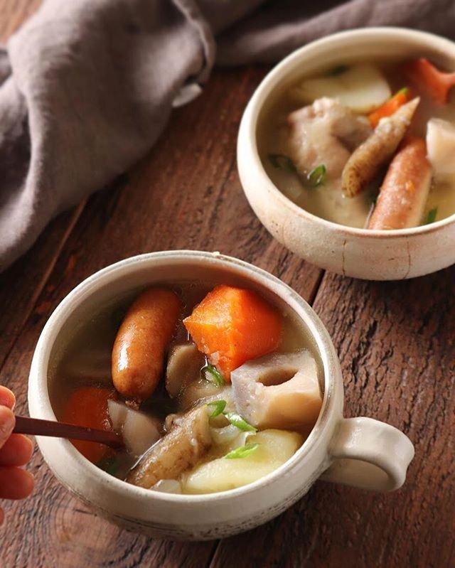 ウインナーと根菜が合う人気の簡単ポトフ