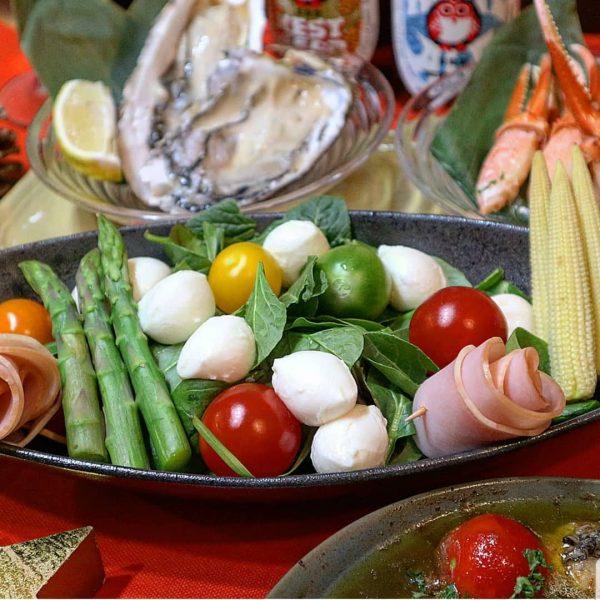 和風でも洋風でも美味しい野菜たっぷり簡単サラダ