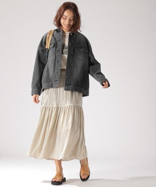 ティアードスカート3