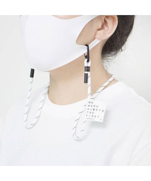 [Birthdayroom] 【LeMASKA(ルマスカ)】マスクネックストラップ/MASK NECK STRAP/Valencia White