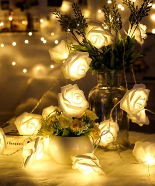 LED電飾 薔薇イルミネーションライト