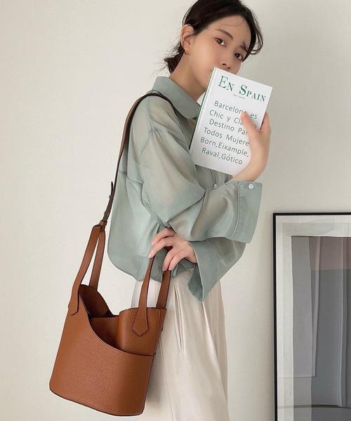 【chuclla】2way bucket bag etda3
