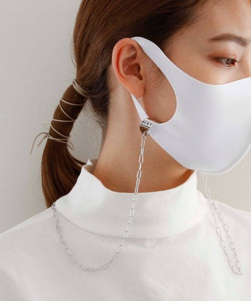 [SUPERTHANKS BOX] JewCas Face Mask Strap Chain/2WAYマスクストラップ ネックレス